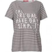 s.Oliver T-Shirt grau Damen Gr. 40