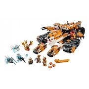 LEGO Chima 70224 Tigers Mobile Command Block Building Set