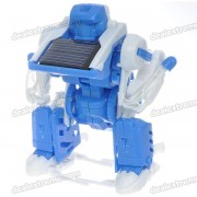 3-in-1 Transforming Solar Robot DIY Toy Assembly Kit