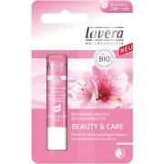 Balsam de buze roz pentru frumusete si ingrijire