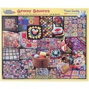 White Mountain Puzzles Granny Squares - 1000 Piece Jigsaw PuzzleWhite Mountain Puzzles Granny Square