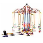 Super Swing Amusment Park Style 620pcs Height 19 In. Educational, Assembly Building Block Toy, Build An Amusement Park By Yourself! Compare To Knex Building Toys