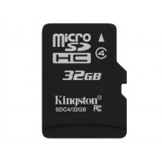 Card Kingston Micro SDHC 32GB Clasa 4 SDC4/32GBSP