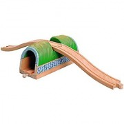 Wooden Train Tunnel with Overpass - Thomas & Friends / BRIO Compatible