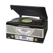TREVI TT-1062E винтидж стерео система USB SD MP3 - черна (#0106200)