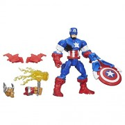 Marvel Super Hero Mashers Captain America Figure - B0694