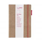 Holtz - sense Book Red Rubber Medium - blanko