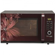 Lg Mc3286Brum 32 Litre Convection Red Floral