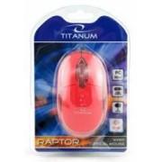 Mouse Esperanza TM102R Titanum Optic 1000DPI Rosu