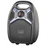 Sistem Audio pentru Karaoke TREVI XF 500, cu amplificator, Bluetooth, 25 W (Negru)
