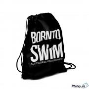 BornToSwim Plavecký vak Swimbag Farba: čierna