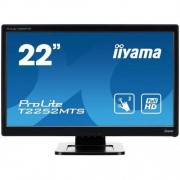 "IIYAMA MONITOR IIYAMA PROLITE T2252MTS-B3 (OPTICAL TOUCH, 22"", FULL HD 1920 X 1080, TN LED, DVI, HDMI). RÓWNIEŻ ZE ZNIŻKĄ EDU -10%"