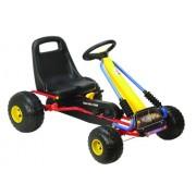 AK Sport - Go Kart per bambini, in metallo con ruote in plastica