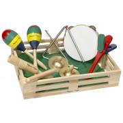Orchestra din cutie: set de mini-instrumente muzicale