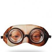 Máscara para Dormir Óculos Nerd