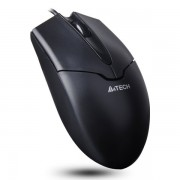 MOUSE A4TECH V-track Padless USB, metal feet, Black (OP-550NU-1)