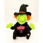 Hallmark Halloween HGN5017 Totally Ticklish Witch Plush