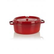 Staub Ovale Cocotte 29 cm - kersenrood