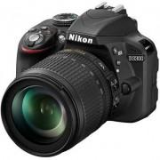 Nikon Lustrzanka cyfrowa NIKON D3300 18-105 VR Czarny