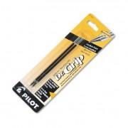Refill, Better/easytouch/dr Grip Retract Ballpoint, Med, Black, 2/pack