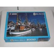 1997 Mb Big Ben 1000 Piece Jigsaw Puzzle Harbor Of Greetsiel, Holland