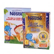 Nestle Pachet Promotional: Cereale somn usor flori de tei 250 g + Mic dejun cu cereale si miere 250 g
