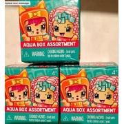 NEW 2016 My Mini MixieQ's Mystery Aqua Box Assortment (2 pack box) -Three Mini Boxes