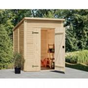 Cobertizo de madera Leif 2 de 183x170 cm. para Jardín