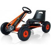 Cart cu pedale Kettler Suzuka Air (Negru/Portocaliu)