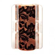 Linziclip Maxi Hair Clip Haargummis für Frauen Haarklammer Farbton - Orange Lace