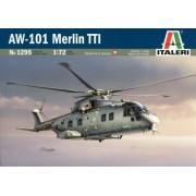 Italeri 1295S AW-101 Merlin TTI - Helicóptero a escala 1:72 [Importado de Alemania]