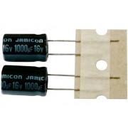 Jamicon 1000uF 16V 105fokC 10x16mm kondenzátor