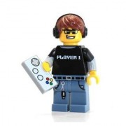 Lego Minifigures Series 12 Video Game Guy Construction Toy