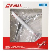 Modellino Aereo Swiss International Air Lines Airbus A330-300 Hb-jhk Scala 1:500