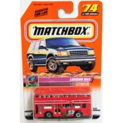 2000 Matchbox -#74 London Bus Red C8 Collectibles Collector Car