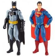 Batman - DLN32 - Pack De 2 Figure - Batman vs superman - 30 Cm