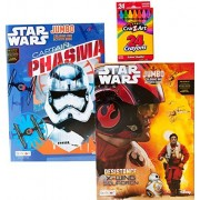 Star Wars Captain Phasma & X Wing Squadron Coloring And Activity Pack!