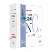NOUL COD CIVIL ADNOTAT CU DOCTRINA SI JURISPRUDENTA EDITIA 2. VOLUMUL 2 (ART. 1164-2664)