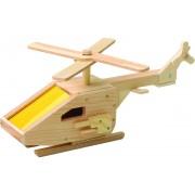 Red toolbox Houtwerk kit: helikopter