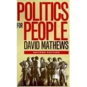 Politics for People by David Mathews