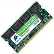 Corsair Value Select - DDR - 1 Go - SO DIMM 200 broches - 333 MHz / PC2700 - mémoire sans tampon - non ECC - pour Sony VAIO PCG-GRT390ZP