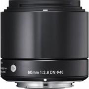 Obiectiv Foto Sigma 60mm f2.8 DN MFT Negru