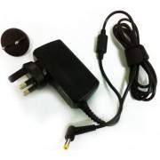 PicknBuy® Acer Aspire One 19V 1.58 a 30W AC adattatore punta 5,5 x 1,7 mm con Multi spine UK e UE per 313JX numero parte 330-2063, 330-3674, 330-9808 AD6113 ADP-30JH B, ADP-30JH BA LF, ADP-30JH BA, ADP-30JH, ADP-30LH B, ADP-30LH, AP.03001.001, AP.03003.00