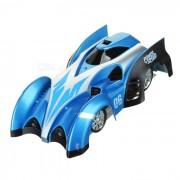 Recargable 4-CH RC Wall C1 USB Escalada Escalador de coches de juguete - Azul