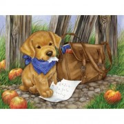 The Dog ate my Homework a 300-Piece Jigsaw Puzzle by Sunsout Inc.