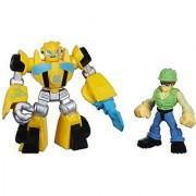 Playskool Heroes Transformers Rescue Bots Bumblebee and Graham Burns Figure Pack