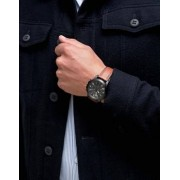 Fossil FS5241 Grant Leather Watch In Tan - Tan