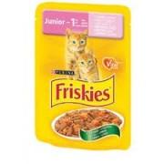Friskies Junior cat - pui si morcovi - 100g