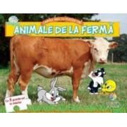 Animale de la ferma. Cartea mea cu puzzle-uri - Baby Looney Tunes