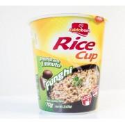 Arroz instantaneo rice cup de champiñones de 12 unidades